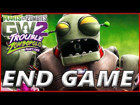 Zombopolis End Game - Plants vs Zombies Garden Warfare 2