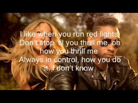Mariah Carey ft Miguel - Beautiful (With Lyrics) clean version