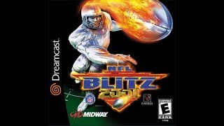 NFL Blitz 2001 (Dreamcast) - Game Play