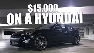 500hp Boosted 3.8 Genesis Coupe Mod List