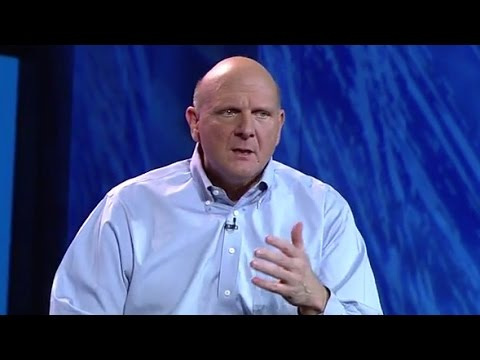 Steve Ballmer Leaves Microsoft (Again)