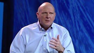 Steve Ballmer Leaves Microsoft (Again)