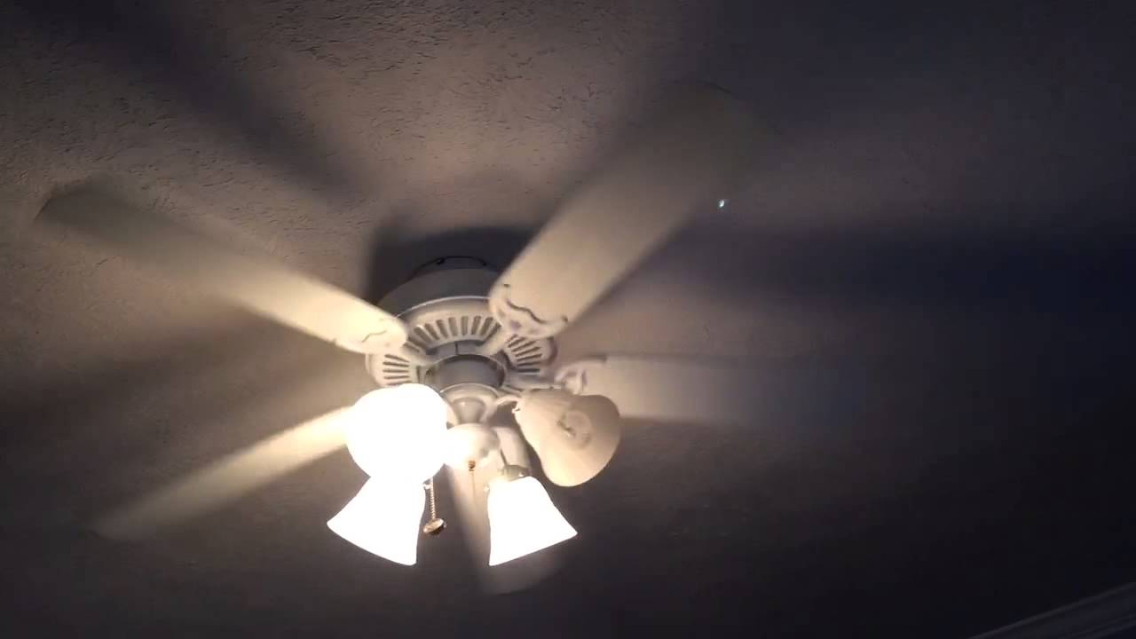 Harbor Breeze Calera Litex All Weather Pre 2000 S Style Outdoor Ceiling Fan Youtube
