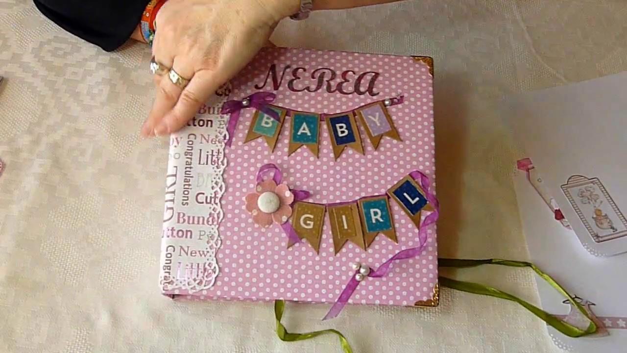 Lbum de fotos beb personalizado ii ni a lbum beb - Album de fotos personalizado ...