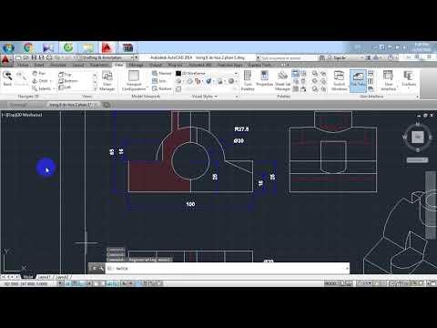 autocad Bách Khoa gạch vật liệu đồ họa 2