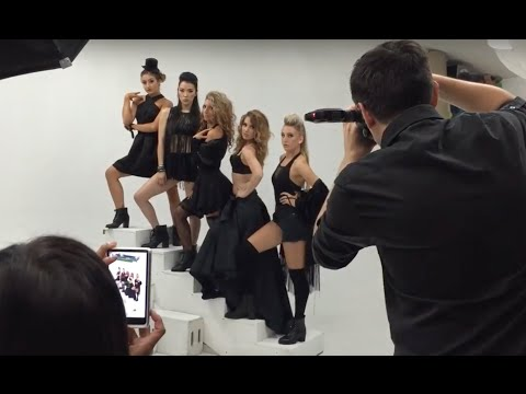 Behind the Scenes fun - Tap That Photoshoot