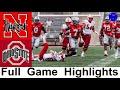 Nebraska vs #5 Ohio State Highlights | College Football Week 8 | 2020 College Football Highlights