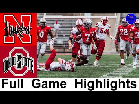 Nebraska vs #5 Ohio State Highlights   College Football Week 8   2020 College Football Highlights
