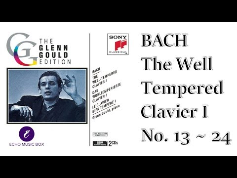 BACH THE WELL TEMPERED CLAVIER I No.13~24(The GLENN GOULD Edition) 바흐 평균율 1권 글렌 굴드 Classical Music