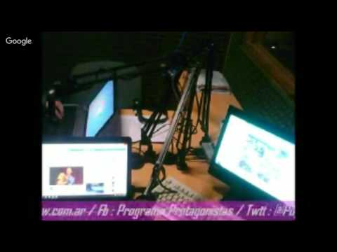 """27/08/2016 """"Protagonistas"""" - Radio Pop  Trelew En Vivo"""