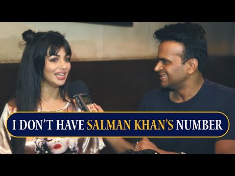 """I never text Salman Khan, I don't even have his number"" says Ayesha Takia"