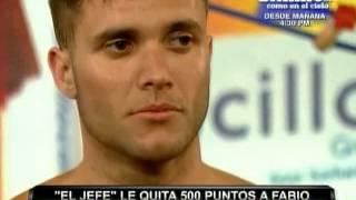 Fabio Agostini furioso con Said Palao y Lisset Lanao