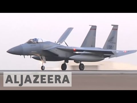 US and Qatar seal $12bn deal for F-15 fighter jets