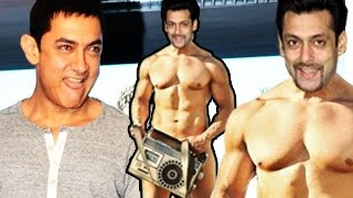Aamir Khan Challenges Salman Khan to Go NUDE | PK OFFICIAL Trailer Launch