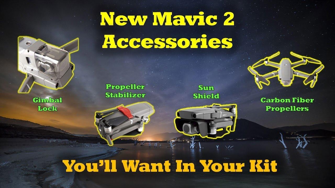 (Drone Lyfe) 4 New Accessories For Your Mavic 2 Quad
