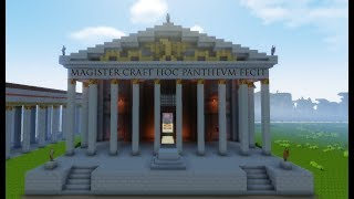 Pantheon of Agrippa - Latin - Minecraft