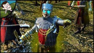 MASSIVE BRETONNIAN ZOMBIE AMBUSH! Total War WARHAMMER Mod Gameplay!