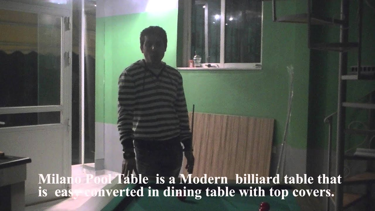 Milano Pool Table YouTube - Milano pool table