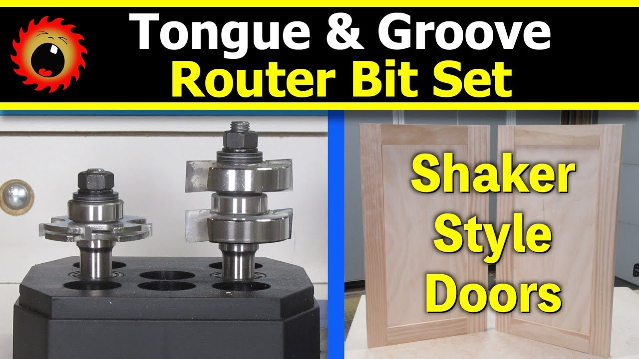 Tongue Amp Groove Router Bits Amp Shaker Style Cabinet Doors