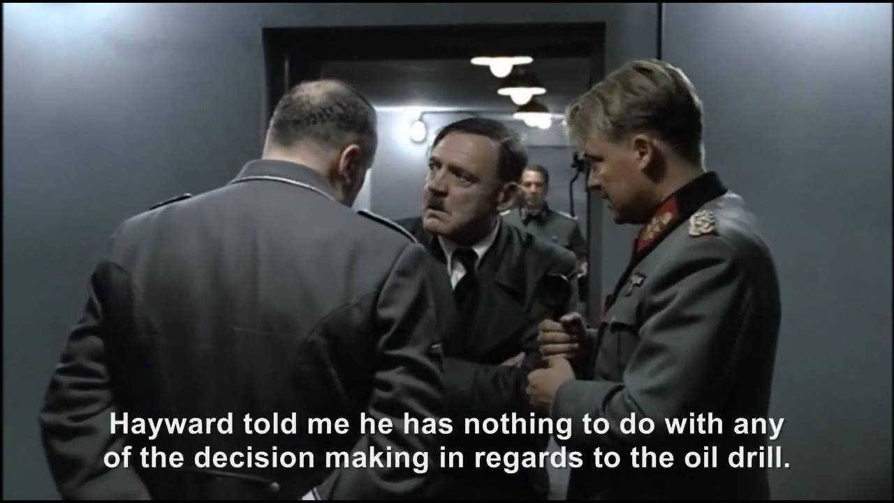 Hitler tries to solve the Gulf Oil Spill Crisis
