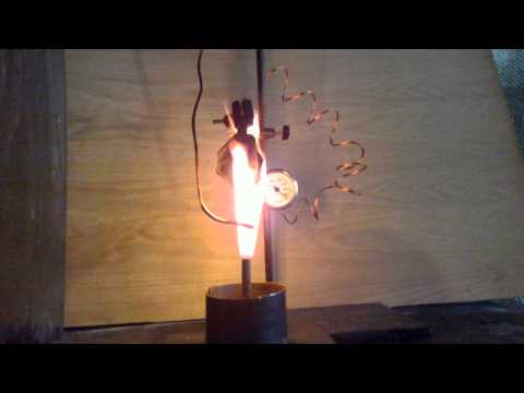 Fire retardant (fire protecor) spray test: Paper coated with PF2 burn test 1
