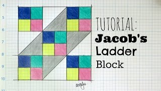 Tutorial: Jacob's Ladder Block | 3and3quarters
