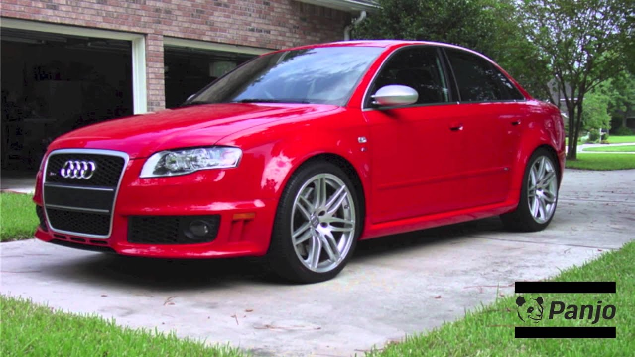 2007 audi rs4 misano red
