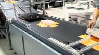mobile  box making plant