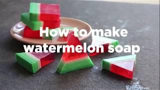 Machen Sie Ihre eigenen Wassermelonen-Seife | ao.com