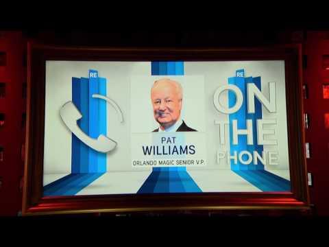 Orlando Magic VP Pat Williams Talks NBA Draft & More - 6/22/17