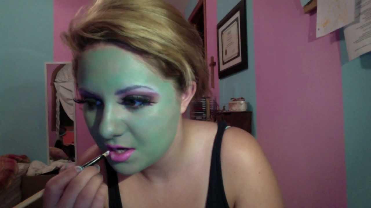 Monster high collection honey swamp makeup tutorial youtube baditri Gallery