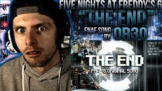 "Vapor Reacts #542 | [FNAF] FIVE NIGHTS AT FREDDY'S 6 SONG ""The End"" by OR3O★ ft. CG5 REACTION!!"