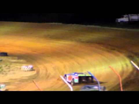 Dog Hollow Speedway - 5/29/15 Super Late Models, Heat Race #2