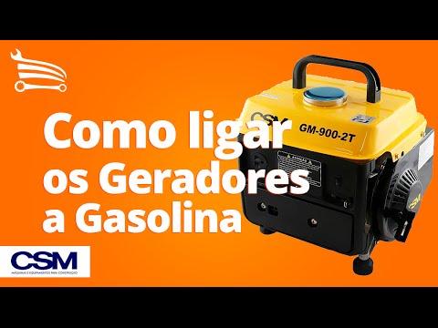 6e4151a659c Como Ligar os Geradores a Gasolina CSM - Loja do Mecânico - YouTube