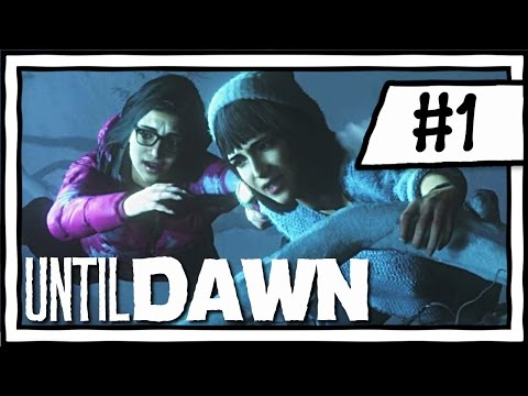 PEOPLE GONNA DIE!! [1] Until Dawn Playthrough [Blind]