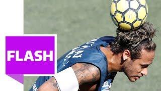 Neymar & Gabriel Jesus zaubern bei 5-gegen-5-Turnier