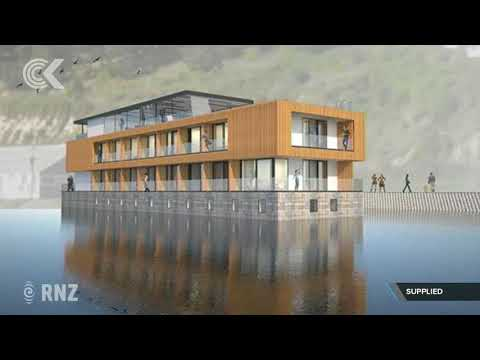 Multi million dollar luxury floating hotel mooted for Oamaru Harbour
