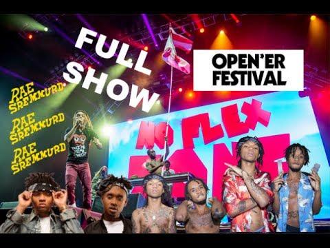 RAE SREMMURD - FULL SHOW I OPENER FESTIVAL 2017 I GOPRO HD