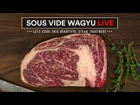 WAGYU MBS 7 Sous Vide Live!