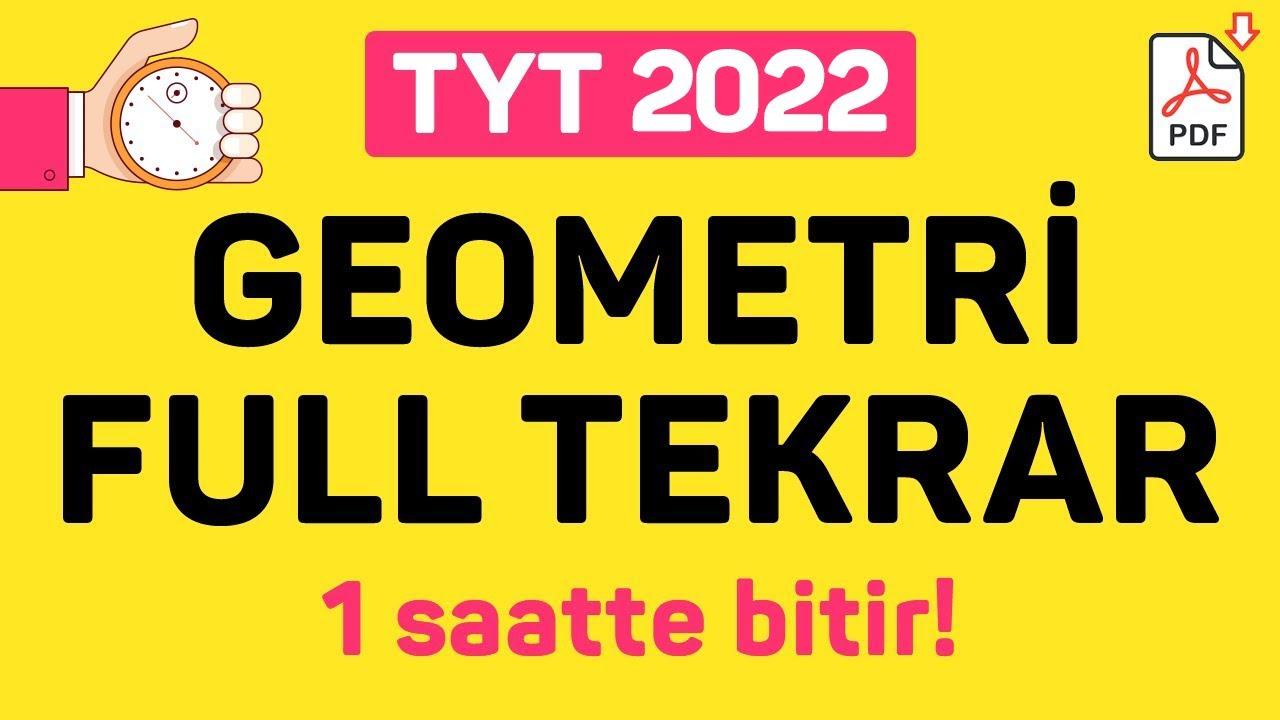 TYT GEOMETRİ FULL TEKRAR   2021   +PDF   ŞENOL HOCA