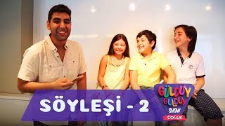 Güldüy Güldüy Show Çocuk - Kıvanç Baran Arslan Söyleşisi Bölüm 2