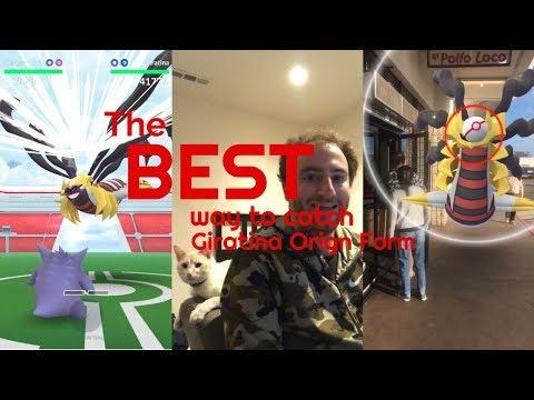 The BEST Way to Catch Giratina Origin Forme - Pokemon Go Tutorial thumbnail