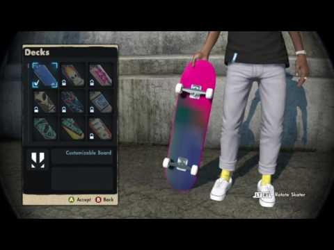 Skate 3 - How To Get Colored Griptape (Easy 2017 Tutorial, MUST READ DESCRIPTION)