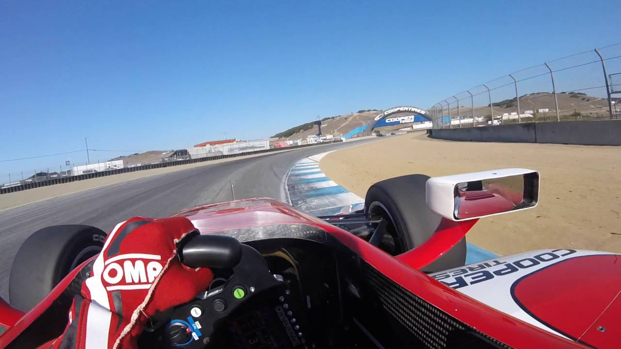 Indycar In Car Theater Visor Cam With Indy Lights Driver Zach