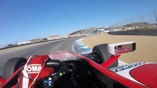 #INDYCAR In-Car Theater: Visor Cam with Indy Lights driver Zach Veach at Mazda Raceway Laguna Seca