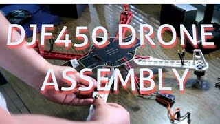 DRONE MAKING EASILY STEPS (QUADCOPTER F450 X--SHAPE )