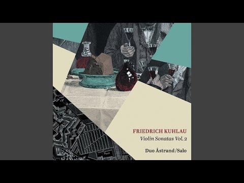 Duo for Violin & Piano in D Major, Op. 110 No. 3: I. Allegro vivace con energia
