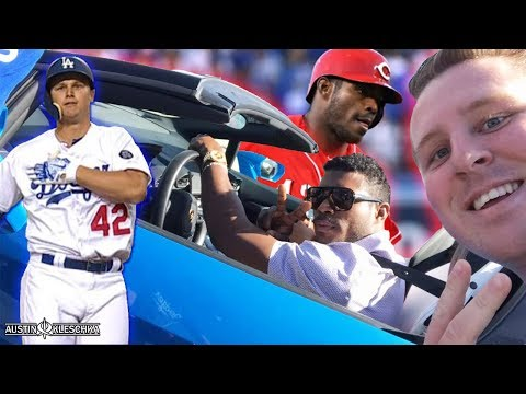 YASIEL PUIG'S REVENGE IS SPOILED BY THE DODGERS ON JACKIE ROBINSON DAY!   Kleschka Vlogs