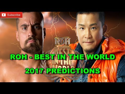 ROH BEST IN THE WORLD 2017 World Television Championship Kushida vs. Marty Scurll WWE 2K17