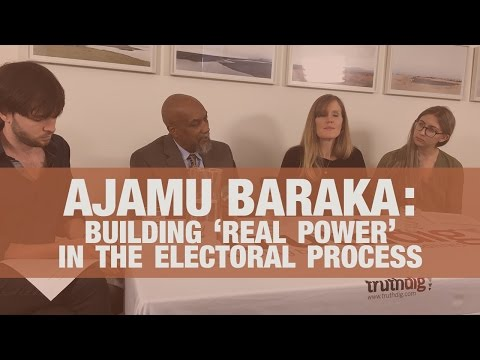 Ajamu Baraka on Building Alternative Political Power in the Electoral Process